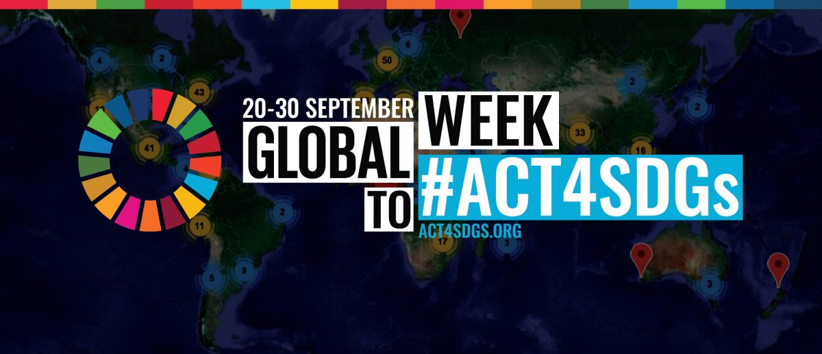 Join the Global Week to #ACT4SDGs